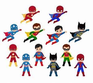 Boy, Superhero, Clip, Art