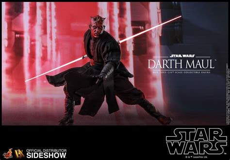 hot toys darth maul star wars episode  sixth scale figure