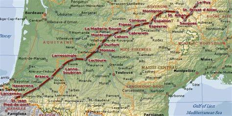 kombinierte pilgerreise via podiensis von le puy nach st