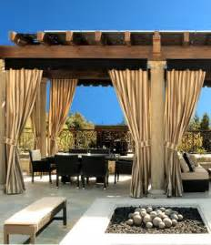 Sunbrella Drapes - buy outdoor drapes and curtains sunbrella curtains and