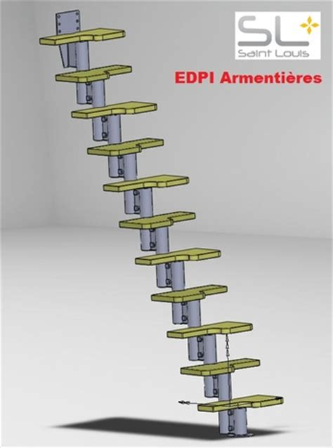 escalier 224 pas d 233 cal 233 s stl solidworks other 3d cad model grabcad