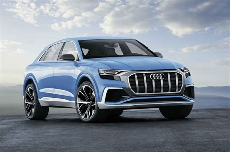 Audi Q8 Prototype Previews The Company's 2018 Flagship Suv