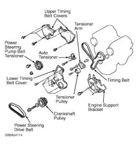 Chrysler Sebring Timing Cam Shaft Marks