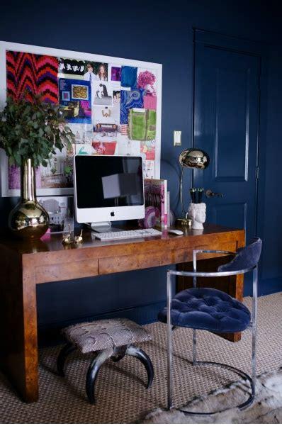 office space   daynailing navy  decorista