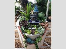 Magical Fairy Gardens Made From Broken Pots Home Design