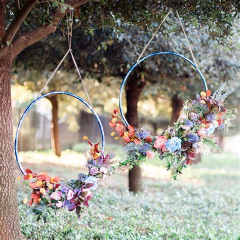 diy hula hoop wreath afloral com