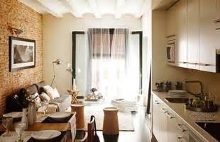 wohnideen erste wohnung stilvoll eingerichtete kleine wohnung in barcelona wohnideen einrichten
