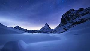 Matterhorn At Night HD Wallpaper Wallpaper Studio 10