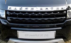 titanium silver range rover evoque lettering upgrade front With range rover evoque lettering kit