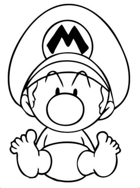 disegni bebe da stare mario beb 232 disegno da colorare gratis disegni da