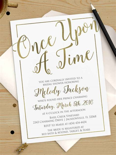 Bridal Shower Invitations - printable bridal shower invitations you can diy