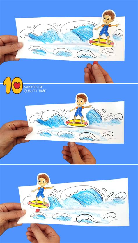 surfer boy craft  minutes  quality time