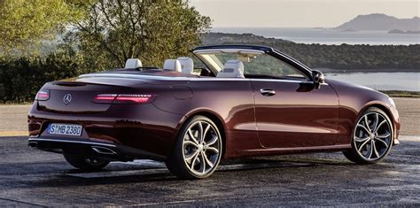convertible mercedes 2017 mercedes benz e class cabriolet revealed photos 1