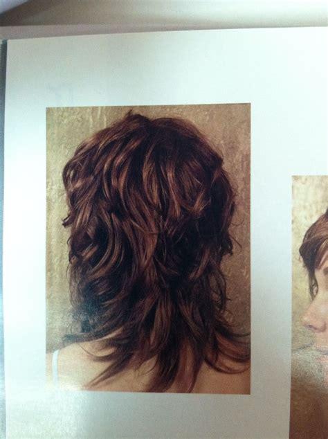 wavy shag haircut  view curly hair