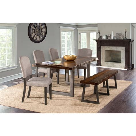 hillsdale emerson  piece rectangle dining set  dining