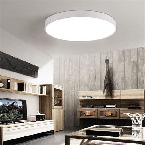 Led Lights Around Room Ceiling by Ultra Thin Led Ceiling Lights Light Dimmable Led