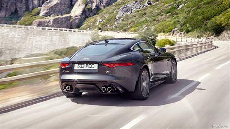 jaguar j type 2015 2015 jaguar f type r coupe stratus grey rear hd