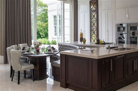 built in kitchen islands with seating kitchen island with built in seating inspiration the owner builder network