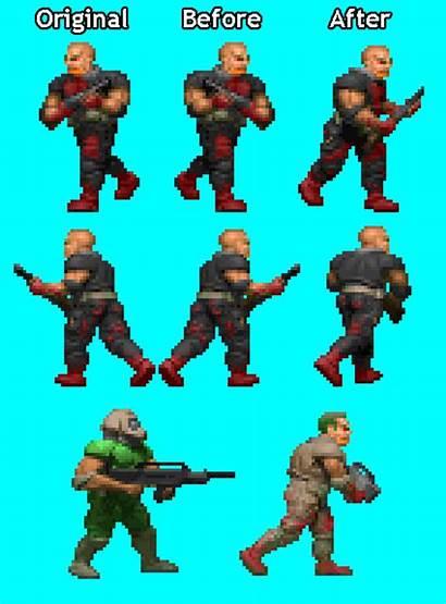 Doom Sprite Sprites Mod Forums Project Pixel