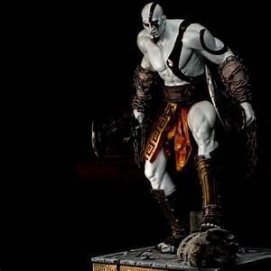 Playstation Gear Store Kratos Statue