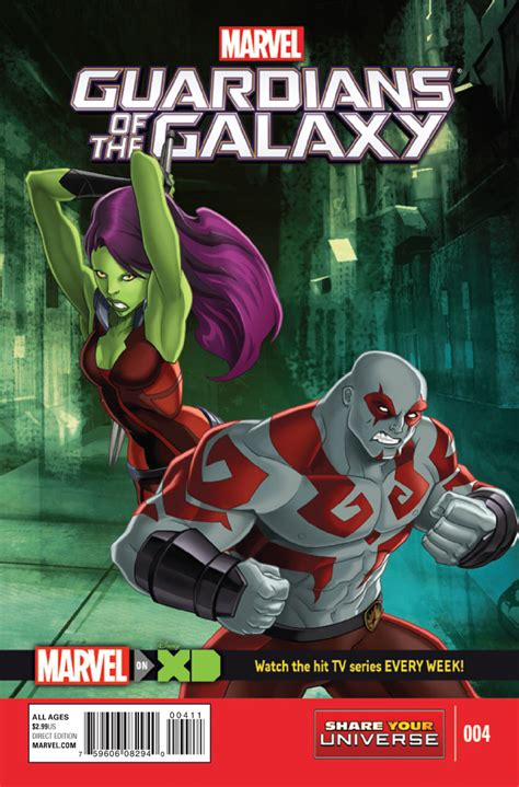 marvel universe guardians of the galaxy 4 take the