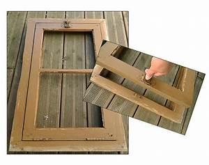 Peinture Encadrement Fenetre Interieur : un miroir de jardin au fil de l 39 eau bois flott ~ Premium-room.com Idées de Décoration