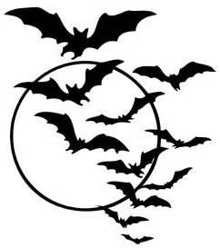 Vampire Pumpkin Templates Free by Free Halloween Bat Swarm Printable Joy S Life