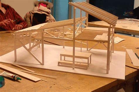 photos maquette structure bois oliver rufus bucks
