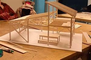 Bien connu comment faire une maquette de maison en bois for Maquette d une maison 13 ossature bois