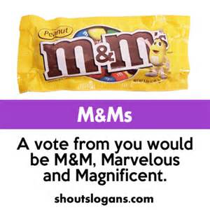 Class President Campaign Candy Slogans
