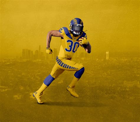 throwback  color rush heres  perfect rams