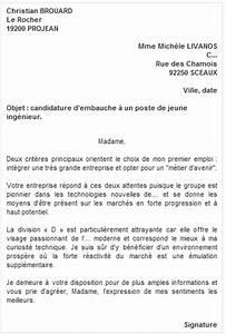 Modele De Lettre De Relance : mod les et exemples lettre de motivation candidature spontan e mod les de cv ~ Gottalentnigeria.com Avis de Voitures
