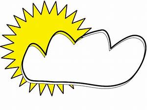 Image Gallery mostly sunny clip art