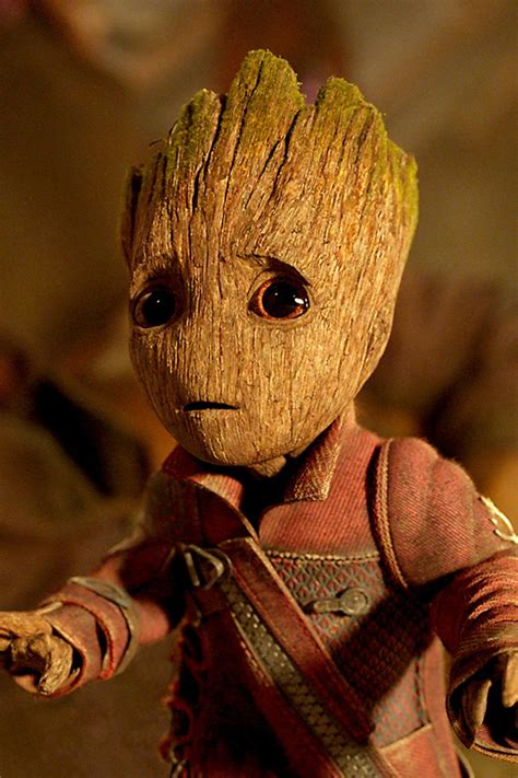 640x960 Baby Groot Guardians Of The Galaxy Vol 2 Iphone 4