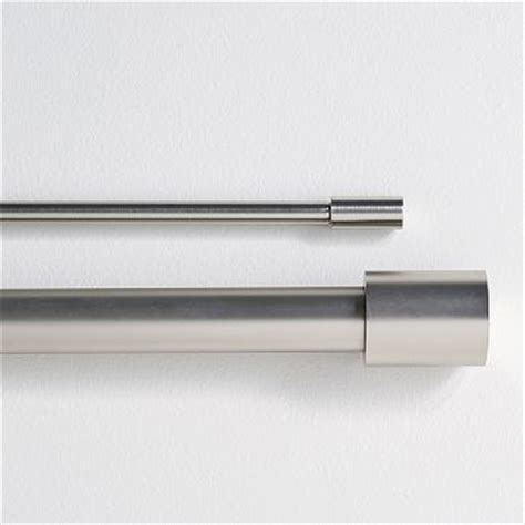 West Elm Drapery Hardware copy cat chic west elm metal rod window hardware