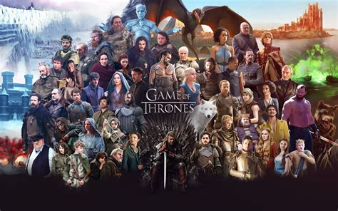 game  thrones  cast hd tv shows  wallpapers