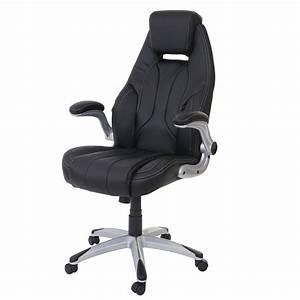 Bürostuhl Breite Sitzfläche : b rostuhl hwc a65 schreibtischstuhl chefsessel drehstuhl kunstleder schwarz ~ Markanthonyermac.com Haus und Dekorationen