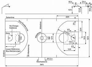 File Basketball - Nba - Field Diagram -de Svg