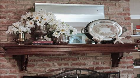 brick wall decoration decorating ideas for fireplace mantels and walls diy fireplace fireplace mantel decor