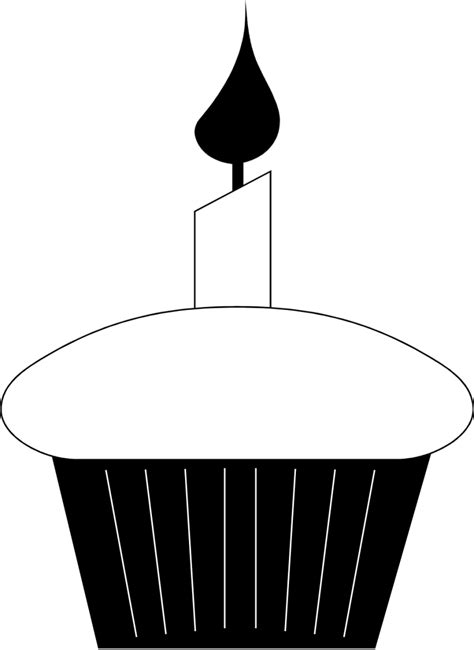 birthday candle clipart black and white birthday clipart black and white clipartion