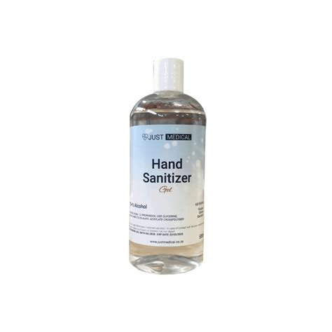 500ml Gel Hand Sanitizer 75% Alcohol (Clear Waterless