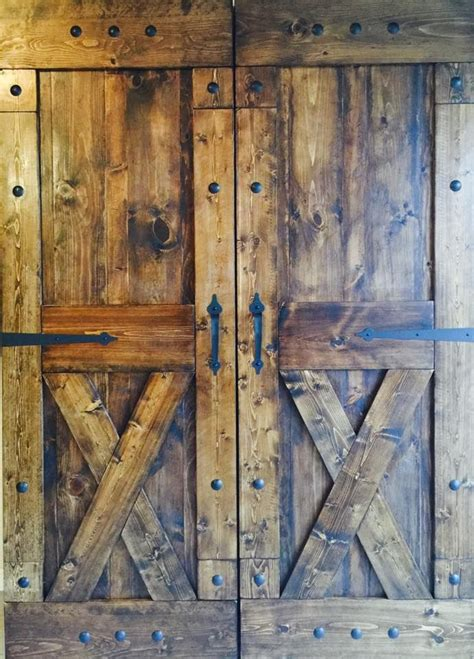 rustic sliding barn doors  affordable prices split
