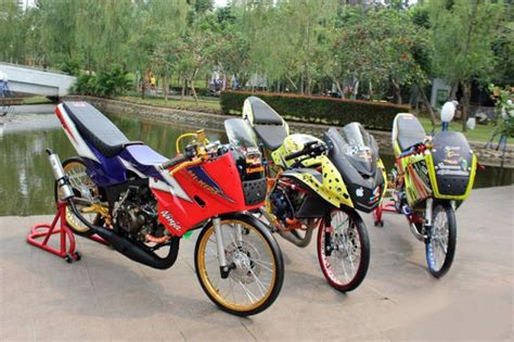 Modifikasi Rr R by Modifikasi Kawasaki Thailand 150 Cc R Dan Rr