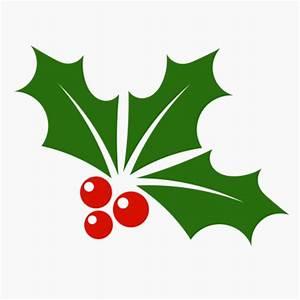 Mistletoe Leaf Clipart - ClipartXtras