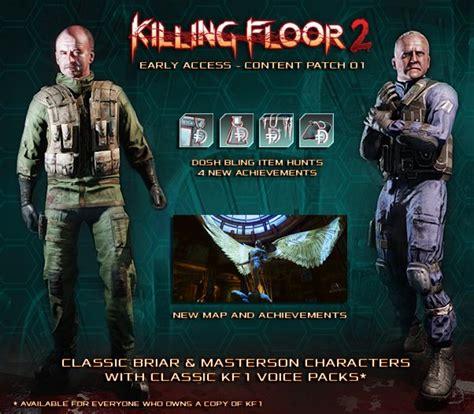 killing floor 2 bugsplat killing floor 2 receives first major content patch aotf