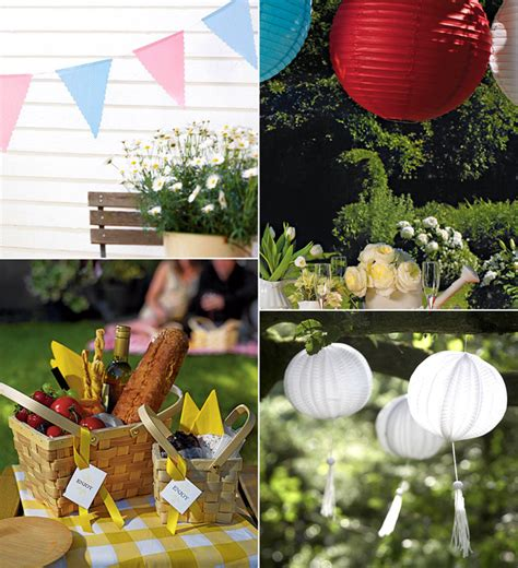 outdoor decorations ideas uk top theme ideas confetti co uk