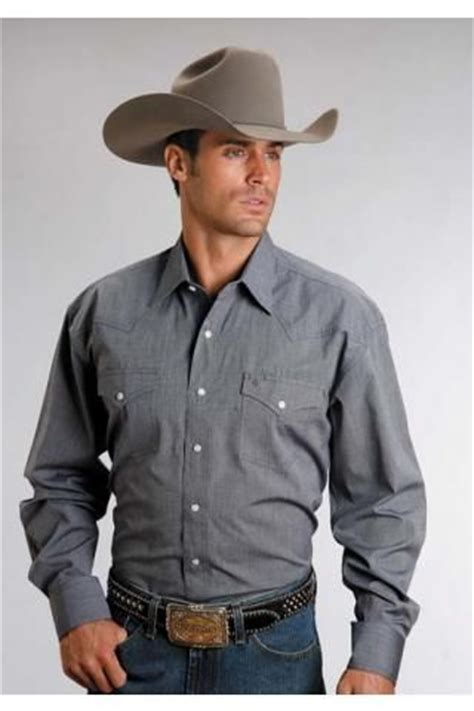 men  long sleeve blue     navy stetson
