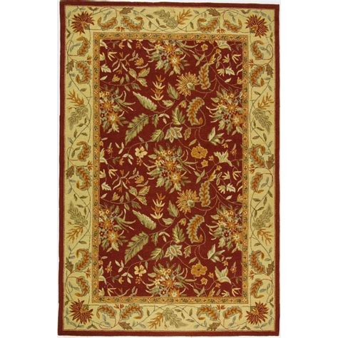 6 x 9 area rugs safavieh chelsea 6 ft x 9 ft area rug hk141c 6 the