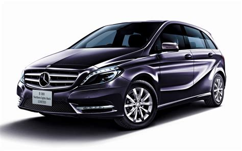 Mercedes B Class Wallpapers by 2013 Mercedes B Class Northern Lights Black Limited