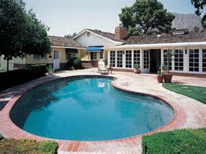 home with pool all design news the of california ranch style